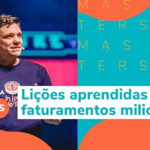 4 lições aprendidas com faturamentos milionários | Erico Rocha no Hotmart MASTERS