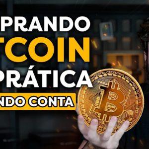 COMO COMPRAR BITCOIN NA PRÁTICA | Investindo em BTC DO ZERO!