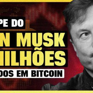O GOLPE DO ELON MUSK! INVESTIDOR PERDEU 3 MILHÕES EM BITCOIN (Veja como não cair)