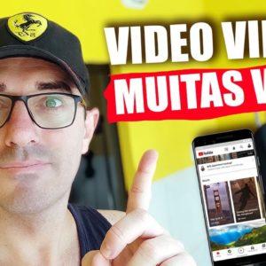 Como criar um video viral no youtube | Nova Técnica para viralizar vídeos no Youtube shorts #shorts