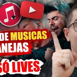 Como Ganhar dinheiro em canal de Musicas apenas fazendo Lives | Canal de Musicas Sertanejas