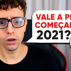 O problema em começar um canal no YouTube em 2021