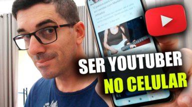 Como Criar Canal no Youtube pelo Celular 2021 Quais ferramentas usar