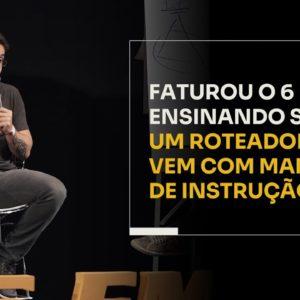MÚLTIPLOS 6 EM 7 ENSINANDO SOBRE UM ROTEADOR | ERICO ROCHA