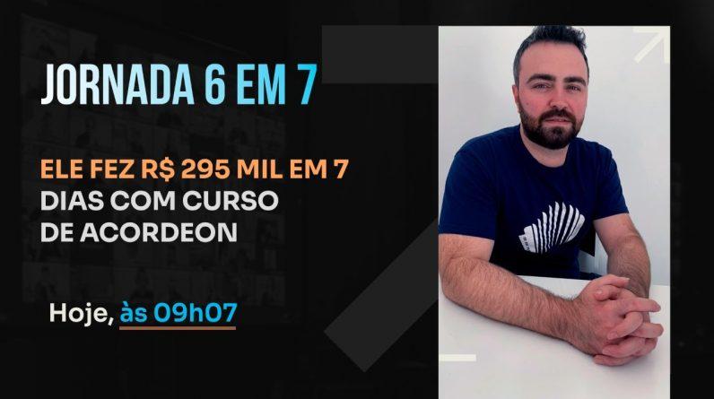 ELE FEZ R$ 295 MIL EM 7 DIAS COM CURSO DE ACORDEON |PODCAST FAIXA MARROM C/ LAYON HOFFMANN