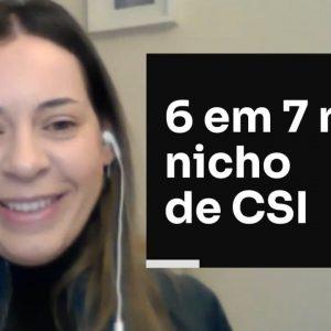 6 EM 7 NO NICHO DE CSI | ERICO ROCHA