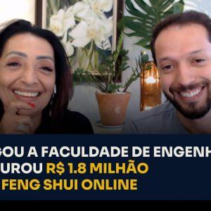 LARGOU A FACULDADE DE ENGENHARIA E FATUROU R$1,8 MILHÃO COM FENG SHUI ONLINE | ERICO ROCHA