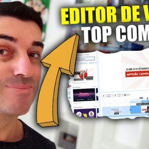 Editor de Vídeos Simples de usar e Completo Totalmente Online | (invideo)