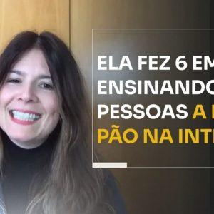 ELA FEZ 6 EM 7 ENSINANDO PESSOAS A FAZER PÃO NA INTERNET | ERICO ROCHA
