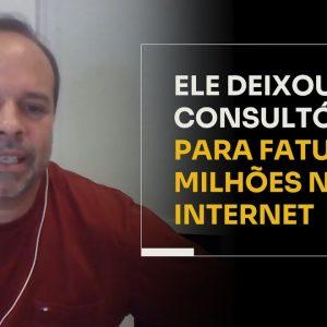 ELE DEIXOU O CONSULTÓRIO PARA FATURAR MILHÕES NA INTERNET | ERICO ROCHA