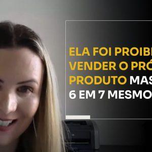ELA FOI PROIBIDA DE VENDER O PRÓPRIO PRODUTO MAS FEZ 6 EM 7 MESMO ASSIM | ERICO ROCHA