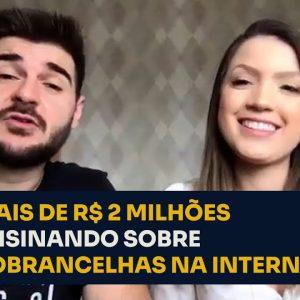 MAIS DE R$ 2 MILHÕES ENSINANDO SOBRE SOBRANCELHAS NA INTERNET | ERICO ROCHA