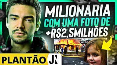 """MILIONÁRIA COM UMA FOTO?   NFT """"DISASTER GIRL"""" VENDIDO POR + DE R$2,5 MILHÕES!"""