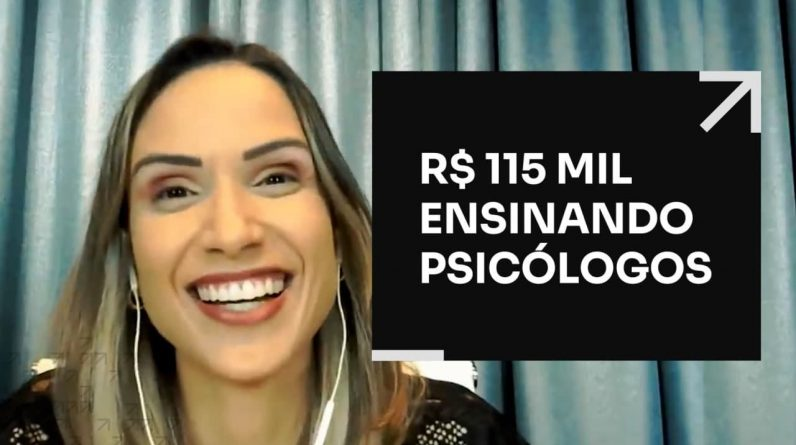R$ 115 MIL ENSINANDO PSICÓLOGOS | ERICO ROCHA