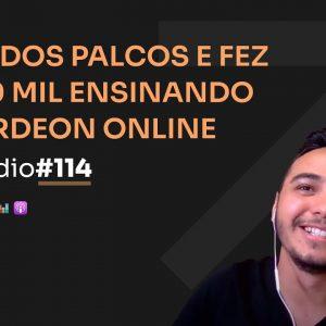 R$110 MIL NO NICHO DE ACORDEON C/ JOHNNY CORREA | PODCAST FAIXA MARROM #114