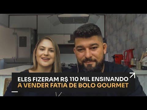 ELES FIZERAM R$110 MIL ENSINANDO A VENDER FATIA DE BOLO GOURMET | ERICO ROCHA