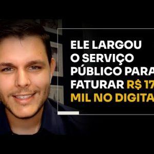 ELE LARGOU O SERVIÇO PÚBLICO PARA FATURAR R$173 MIL NO DIGITAL | ERICO ROCHA