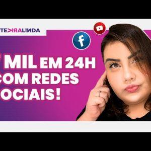 COMO GANHAR DINHEIRO COM REDES SOCIAIS: FATURE DE 500 A 7 MIL REAIS COM ESSAS DICAS #TEVIRALINDA