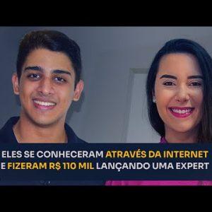 ELES SE CONHECERAM ATRAVÉS DA INTERNET E FIZERAM R$110 MIL LANÇANDO UMA EXPERT | ERICO ROCHA