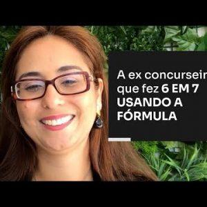 A EX CONCURSEIRA QUE FEZ 6 EM 7 USANDO A FÓRMULA | ERICO ROCHA