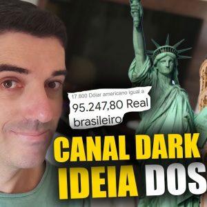 Ideia de Nicho para Youtube Canal DARK de Recomendações Turisticas sem aparecer
