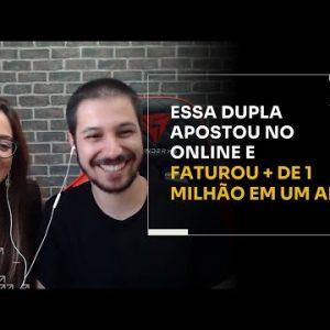 ESSA DUPLA APOSTOU NO ONLINE E FATUROU MAIS DE 1 MILHÃO EM UM ANO | ERICO ROCHA