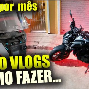 Canal dark de Moto Vlogs R$ 12.893,00 Por mês andando de Moto | Como criar canal de moto no youtube