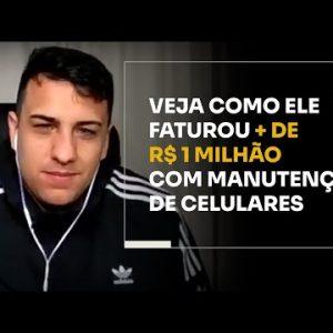 VEJA COMO ELE FATUROU + DE R$1 MILHÃO COM MANUTENÇÃO DE CELULARES | ERICO ROCHA