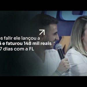 APÓS FALIR ELE LANÇOU A IRMÃ E FATUROU R$148 MIL REAIS EM 7 DIAS COM A FL | ERICO ROCHA