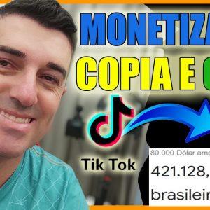 [REVELADO] Monetizado R$ 421.128,00 Copiar e Colar | Como Ganhar dinheiro no Youtube