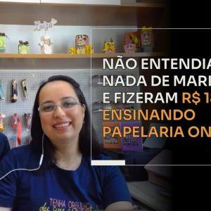 NÃO ENTENDIAM NADA DE MARKETING E FIZERAM R$188 MIL ENSINANDO PAPELARIA ONLINE | ERICO ROCHA