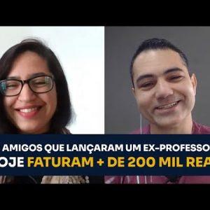 OS AMIGOS QUE LANÇARAM UM EX-PROFESSOR E HOJE FATURAM + DE 200 MIL REAIS | ERICO ROCHA