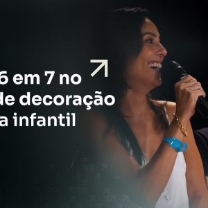 ELA FEZ 6 EM 7 NO NICHO DE DECORAÇÃO DE FESTA INFANTIL | ERICO ROCHA
