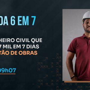 O ENGENHEIRO CIVIL QUE FEZ R$ 267 MIL EM 7 DIAS COM GESTÃO DE OBRAS | PODCAST FAIXA MARROM