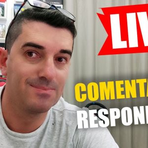 Live Respondendo Comentários ao vivo | Erivelton