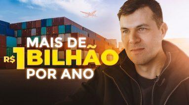 Ele CRIOU um IMPÉRIO Multi-Milionário IMPORTANDO PRODUTOS para o Brasil | Tiago Fonseca