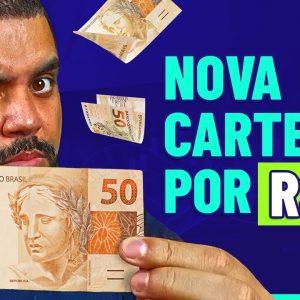 CARTEIRA DE AÇÕES COM 50 REAIS! Atualizada e pra quem ganha pouco!