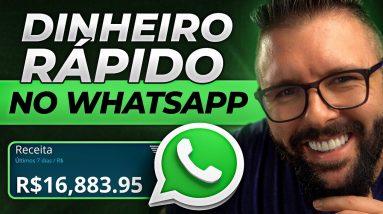 COMO GANHAR DINHEIRO COM WHATSAPP, PASSO A PASSO DO ZERO