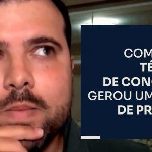 COMO UMA TÉCNICA DE CONCURSO GEROU UM 6 EM 7 DE PRIMEIRA | ERICO ROCHA