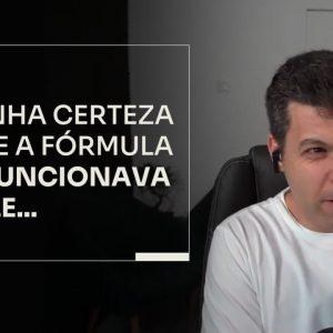 ELE TINHA CERTEZA DE QUE A FÓRMULA NÃO FUNCIONAVA PRA ELE | ERICO ROCHA