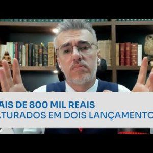MAIS DE 800 MIL REAIS FATURADOS EM DOIS LANÇAMENTOS | ERICO ROCHA