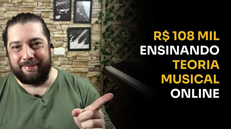 R$108 MIL ENSINANDO TEORIA MUSICAL ONLINE | ERICO ROCHA