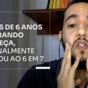 DEPOIS DE 6 ANOS QUEBRANDO A CABEÇA, ELE FINALMENTE CHEGOU AO 6 EM 7 | ERICO ROCHA