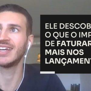 ELE DESCOBRIU O QUE O IMPEDIA DE FATURAR MAIS NOS LANÇAMENTOS | ERICO ROCHA