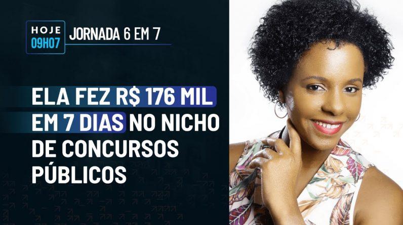 ELA FEZ R$ 176 MIL NO NICHO DE CONCURSOS PÚBLICOS C/ VANDINARA LOPES | PODCAST FAIXA MARROM