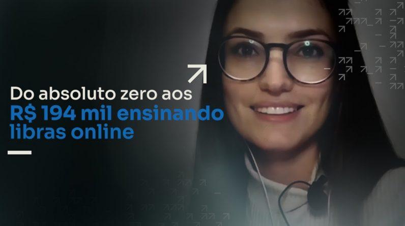 DO ABSOLUTO ZERO AOS R$194 MIL ENSINANDO LIBRAS ONLINE | ERICO ROCHA
