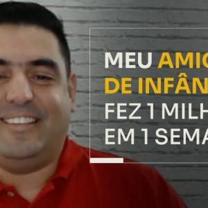 MEU AMIGO DE INFÂNCIA FEZ 1 MILHÃO EM 1 SEMANA | ERICO ROCHA