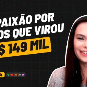 R$ 149 MIL NO NICHO DE VINHOS C/ ANNA COSTA | PODCAST FAIXA MARROM #194