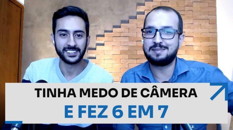 TINHA MEDO DE CÂMERA E FEZ 6 EM 7 | ERICO ROCHA